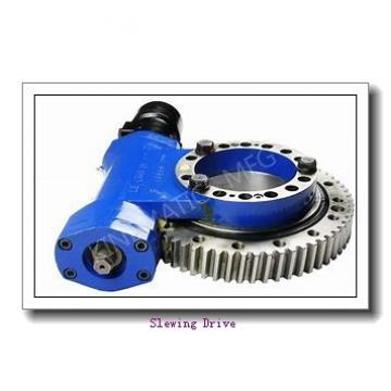 Double Worm Slewing Drive with Hydraulic Motor for Truck Arms