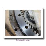 long life turntable slewing ring bearings for crawler, lattice boom crane