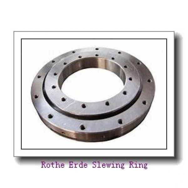 stable quality replace rollix four point  contact ball gear slew ring turntable slewing bearing for crane #2 image