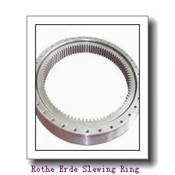 china famous bearing external gear inner flange bearing crane four point contact ball slweing berigns #1 image
