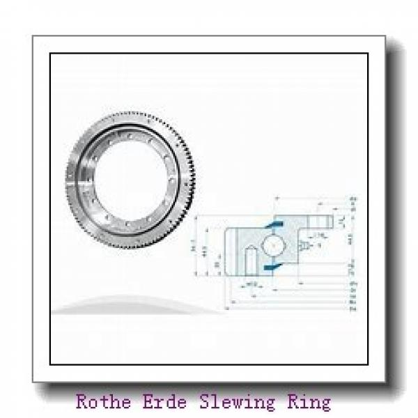 china famous bearing external gear inner flange bearing crane four point contact ball slweing berigns #2 image
