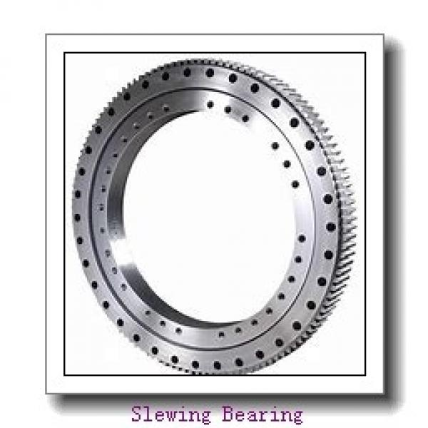 high quality chinese brand replacement precision  big excavator slewing ring bearing #3 image