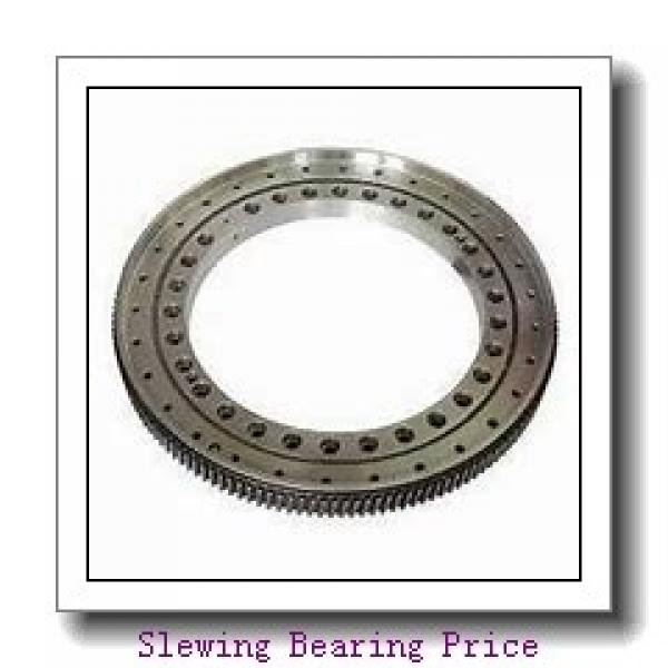 single row four point contact ball slewing ring bearing 010.50.1800 for  hitachi excavator swing gear #2 image