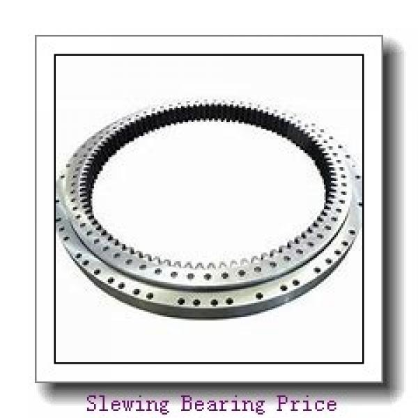 chinese bearing supplier Four point Contact Ball  without gear  slewing ring 010.25.550.03 small  Profile  slewing bearing #2 image