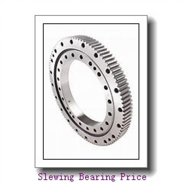 Alternative IMO four point contact ball slewing bearing without gear 010.30.630.03 Single row ball slewing bearing ring #2 image