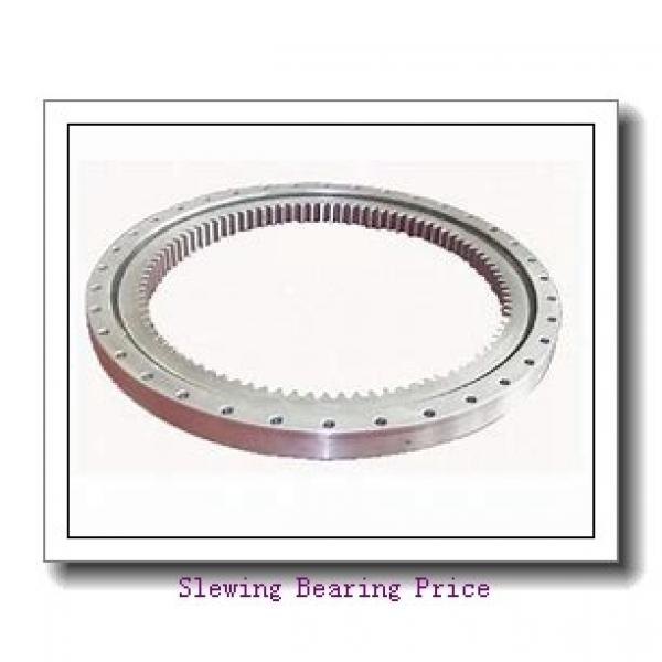 Alternative IMO four point contact ball slewing bearing without gear 010.30.630.03 Single row ball slewing bearing ring #1 image