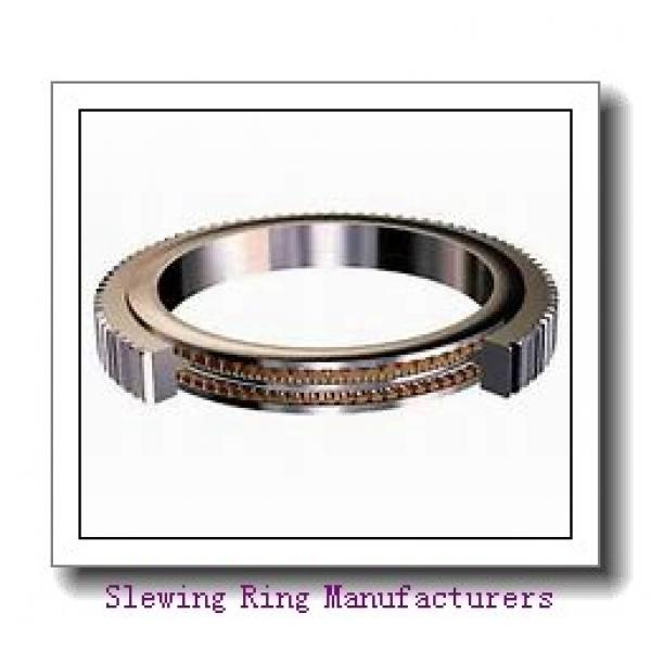 Pinion Drive Spur Gear Slewing Drive for Turn Tables and Antenna Positioner #1 image