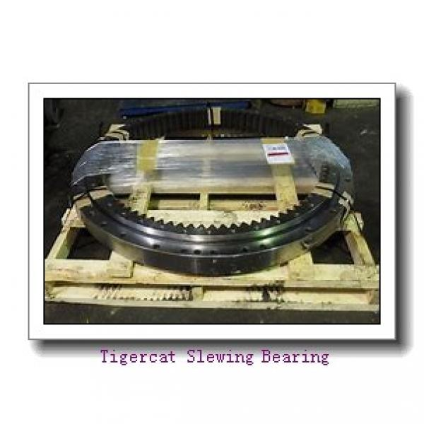 slewing ring turntable bearing with high precision for mining hydraulic excavator loader #2 image